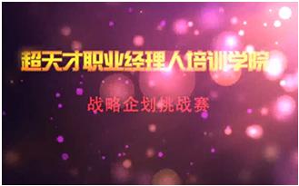 张磊VS张耀寰战略企划总监挑战赛
