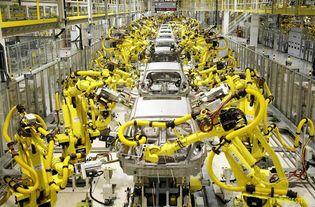 动图演示 看看工业机器人什么样子