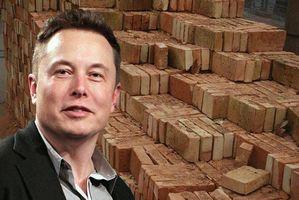 无聊公司挖隧道产生的废土怎么办?马斯克:那就制成砖头卖出去呀